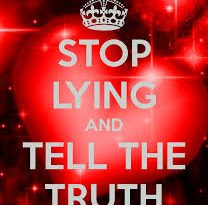 Mind your heart: Stop lying!