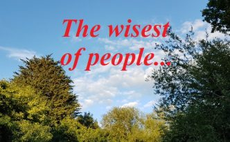 The wisest of people