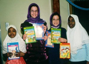 Winners of a recent Eid Quran recitation competion