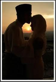 sepasang kekasih muslim