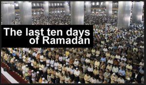 last 10 days ramadan